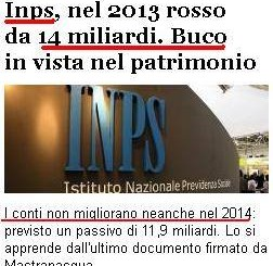 INPS IN ROSSO