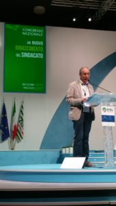 Vittorino Deganello, Segretario Generale FNP CISL Vicenza