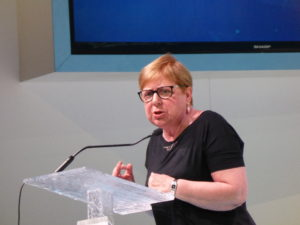 Maria Trentin, Responsabile Nazionale Coordibnamento Donne ed ex Segretaria Generale FNP CISL Vicenza