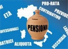 Pensioni pro rata