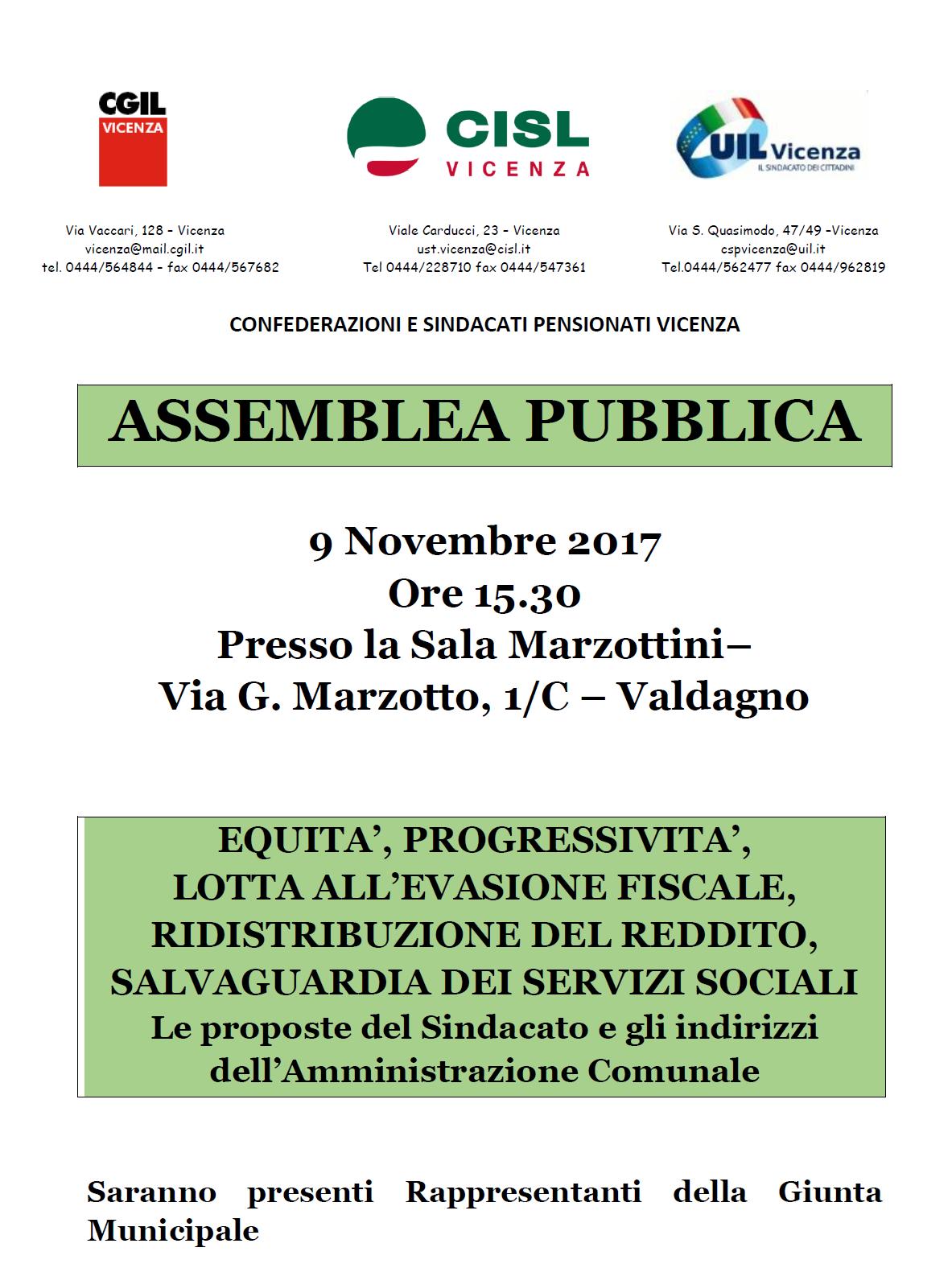 20171109 ASSEMBLEA VALDAGNO