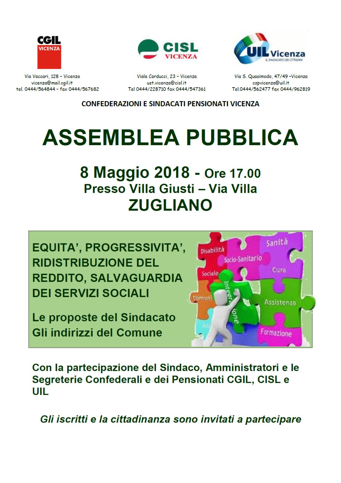 assemblea zugliano 8.5.2018