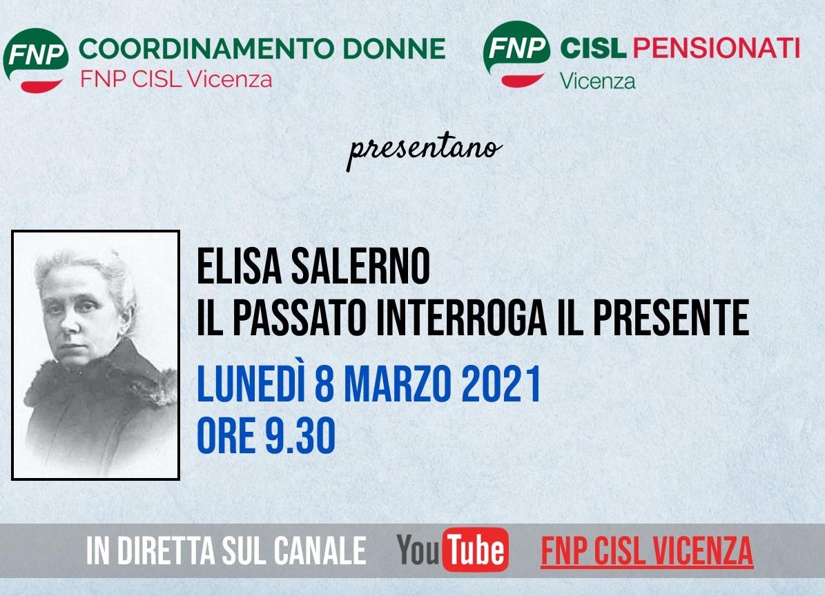 """""""Elisa Salerno: il Passato interroga il Presente"""" – l'8 marzo in diretta su youtube"""
